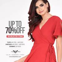 """Grab it before it's Gone Forever"""" Enjoy up to 70% off on selected items from 23rd May to 30th May"""