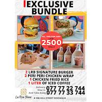 Exclusive bundles For Rs.2500 at La Rose Blanc