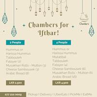 Chambers for Ifthar