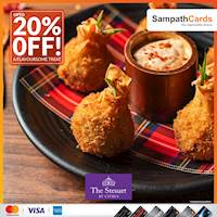 Up to 20% Off at The Steuart by Citrus for Sampath bank Credit Cards