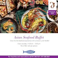 Asian Seafood Buffet at the Cinnamon Grand