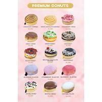 Premium Donuts Menu at Gonuts with Donuts