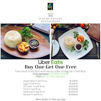 Buy one Get one FREE at Garton's Ark with Uber Eats