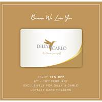 Discounts for all Loyalty card holders at Dilly & Carlo