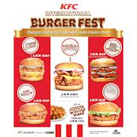 International Burger Festival at KFC Sri Lanka