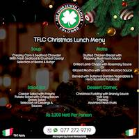 Christmas lunch Menu at The Four Leafed Clover
