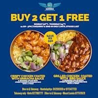Buy 2 Get 1 Free at Street Burger