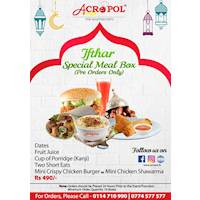 Ifthar Special Meal Box from Acropol Restaurant