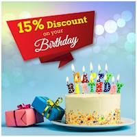 15% Discount on your birthday celebration at Chinese Dragon Cafe