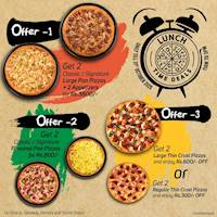 Lunch Time Deals at Pizza Hut this October!