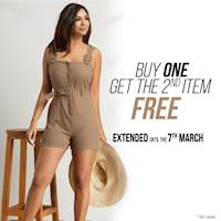 Buy 1 Get 2nd item FREE at Kelly Felder