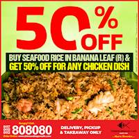 50% OFF Mega Offer at Chinese Dragon Cafe!!