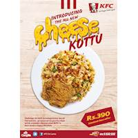 Introducing the all new KFC Cheese Kottu