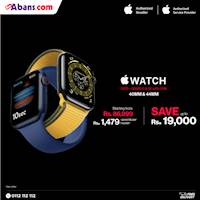 Enjoy up to Rs.19,000 OFF when you purchase the all new Apple Watch SE or Apple Watch Series 6 at Buyabans.com