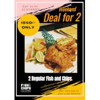 Deal for two at The Fish and Chips Colombo